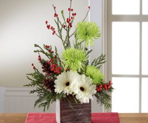 Decorate with Holiday Centerpieces, Flowers & Plants